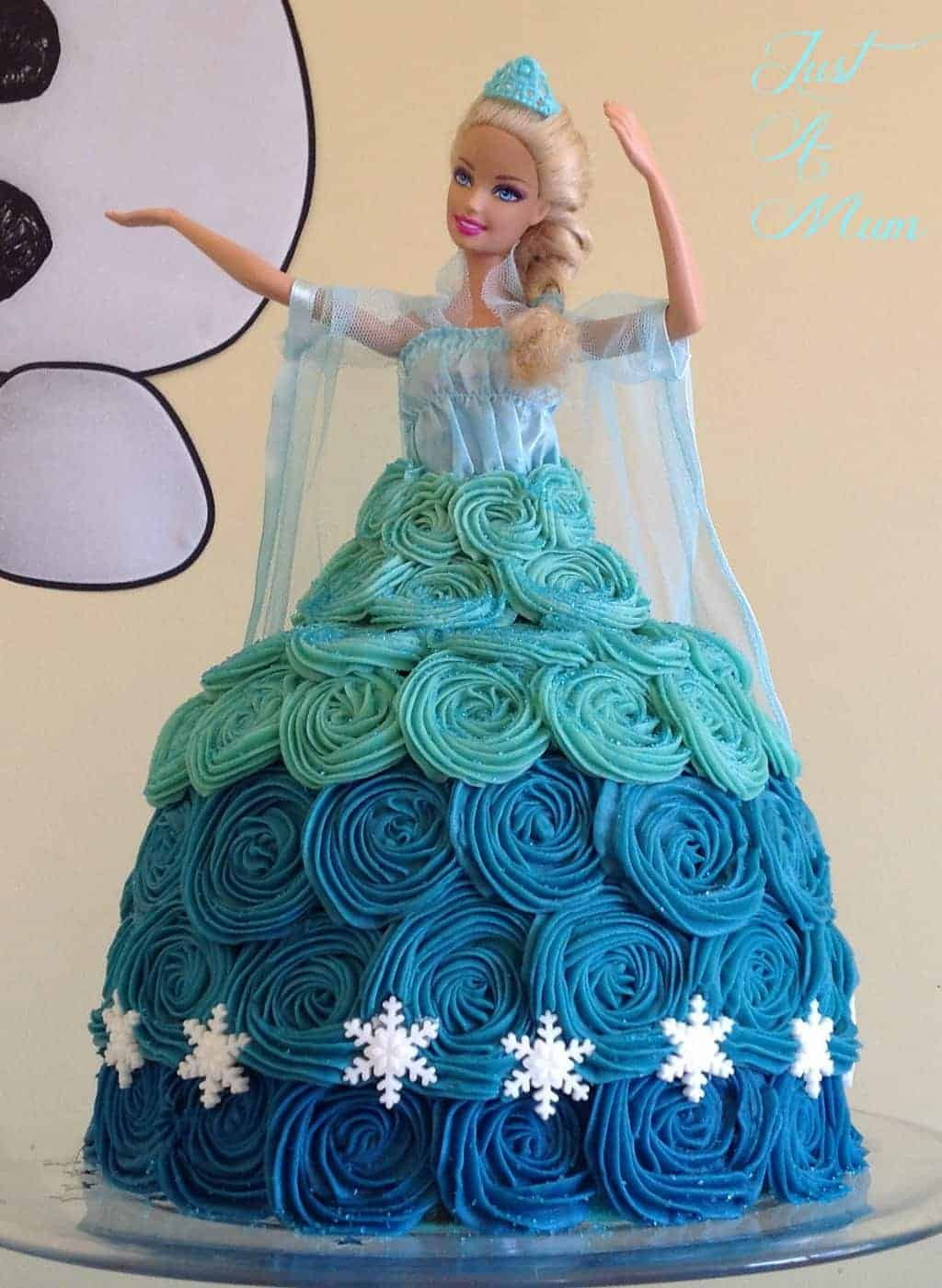 Princess Elsa Cake - Frozen