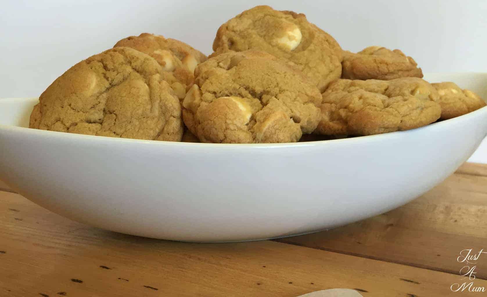 White Chocolate & Macadamia Cookies 5
