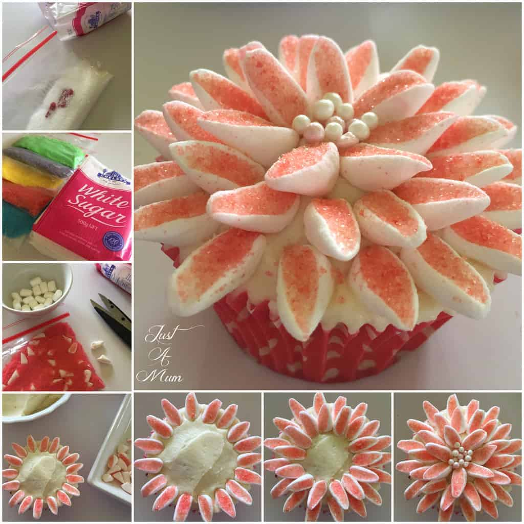 Just A Mum Chelsea Sugar Cupcakes