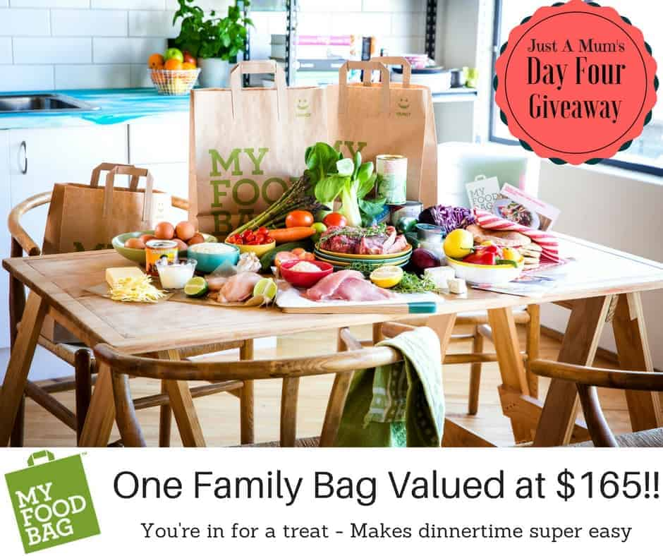 Just A Mums Day Four Giveaway - My Food Bag