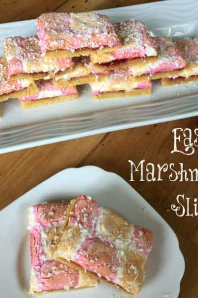 Easy Marshmallow Slice