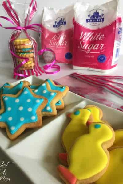 Iced Cookies with Royal Icing