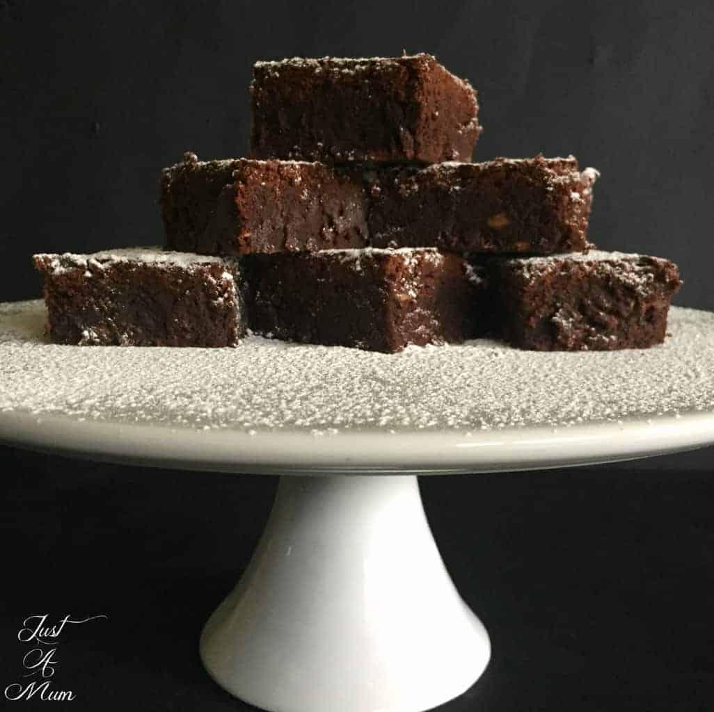 Nigella's Triple Chocolate Brownie - Just A Mum