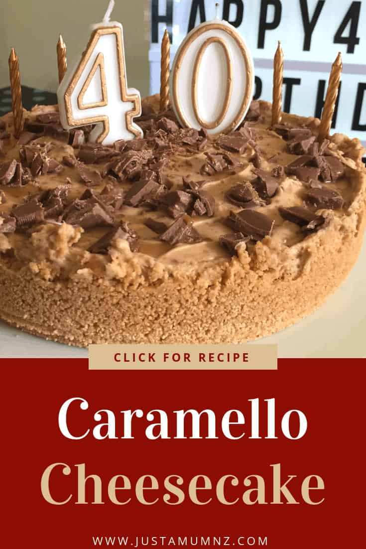 Delicious easy recipe for Caramello Cheesecake. No bake, no gelatin, this is the best for those caramel flavours. #cadbury #caramel #recipes #birthday #cream