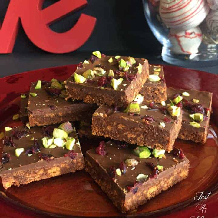 No Bake Chocolate Fudge Slice