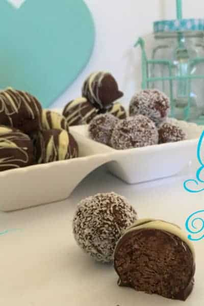 Just A Mum's Choc Mint Truffles