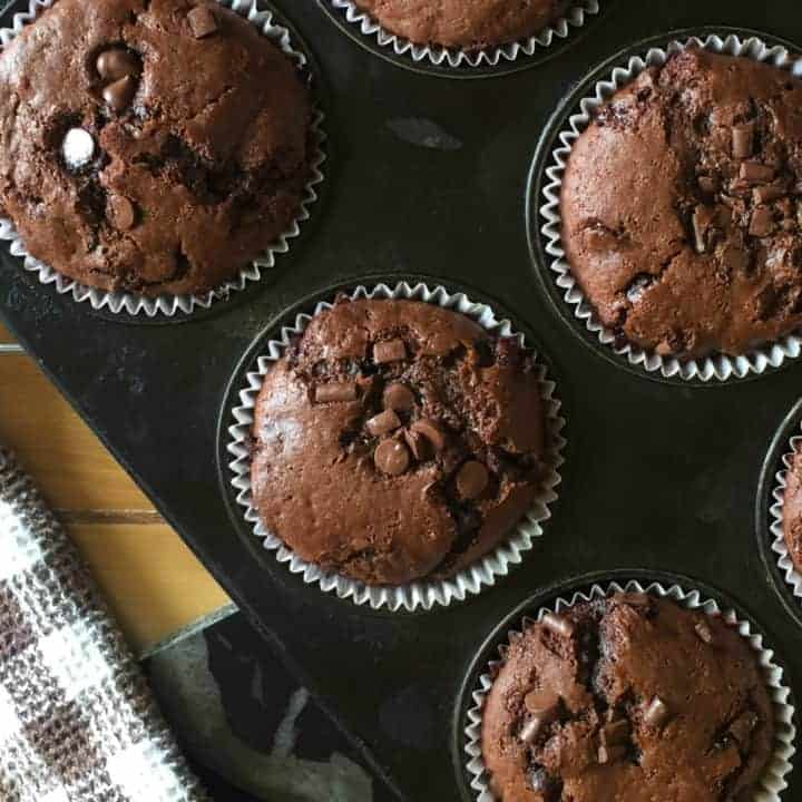Double Chocolate Chip Muffins 2.0