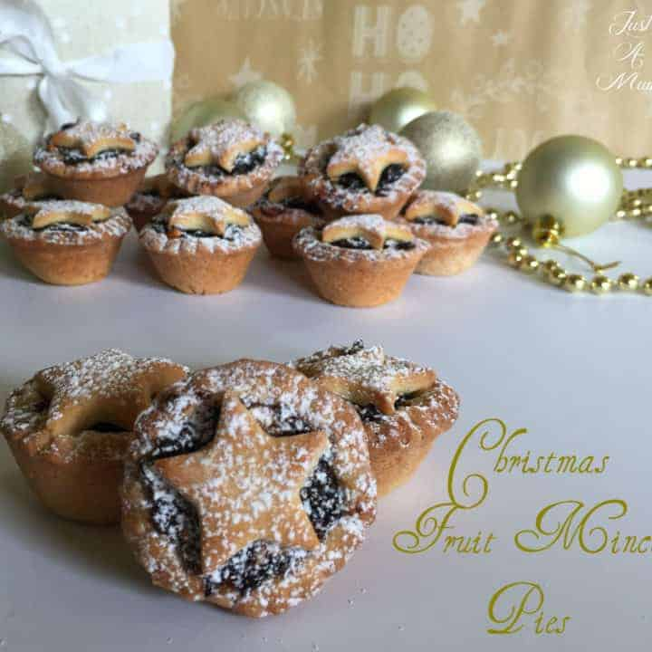 Just A Mum's Christmas Mince Pies