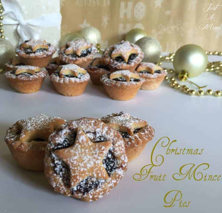 Homemade Christmas Fruit Mince Pies