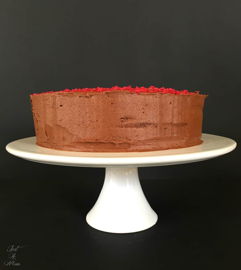 Just A Mum's Beetroot Chocolate Cake