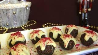 Christmas Pudding Bliss Balls