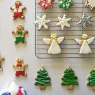 Christmas Shape Cookies