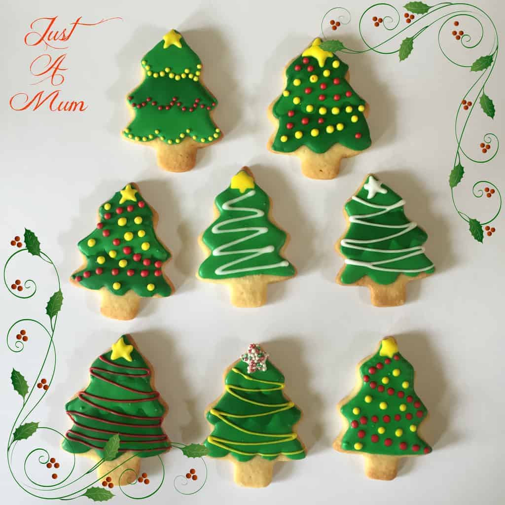 Just a Mum's Christmas Shape Cookies