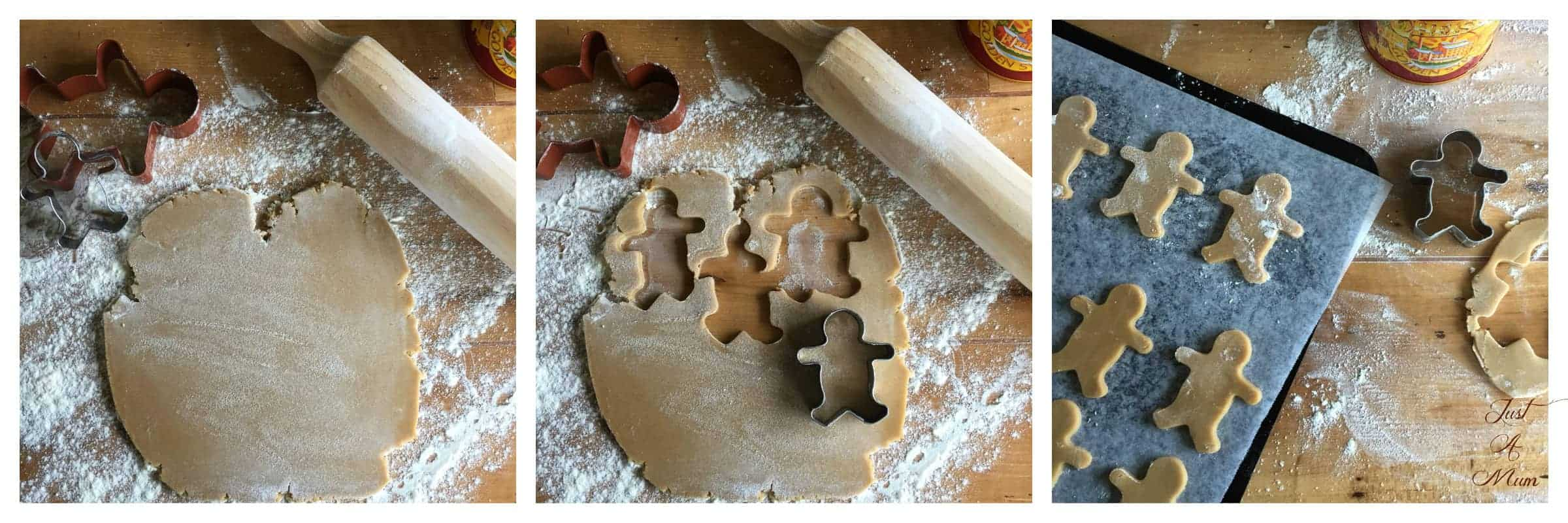 Just A Mum's Gingerbread Men