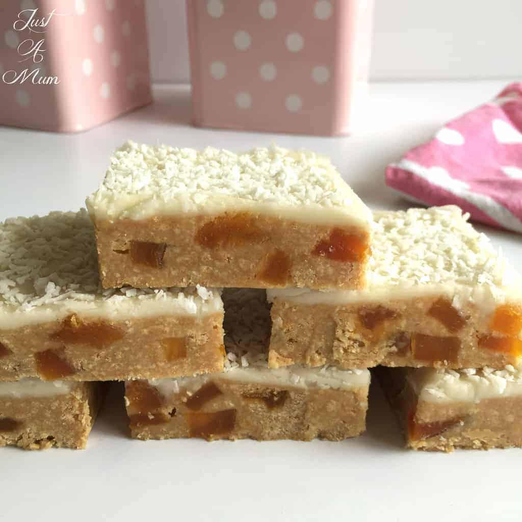 No-Bake Apricot Slice - Just A Mum