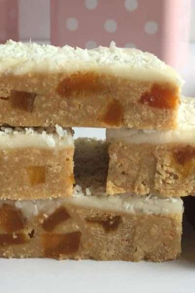 No-Bake Apricot Slice