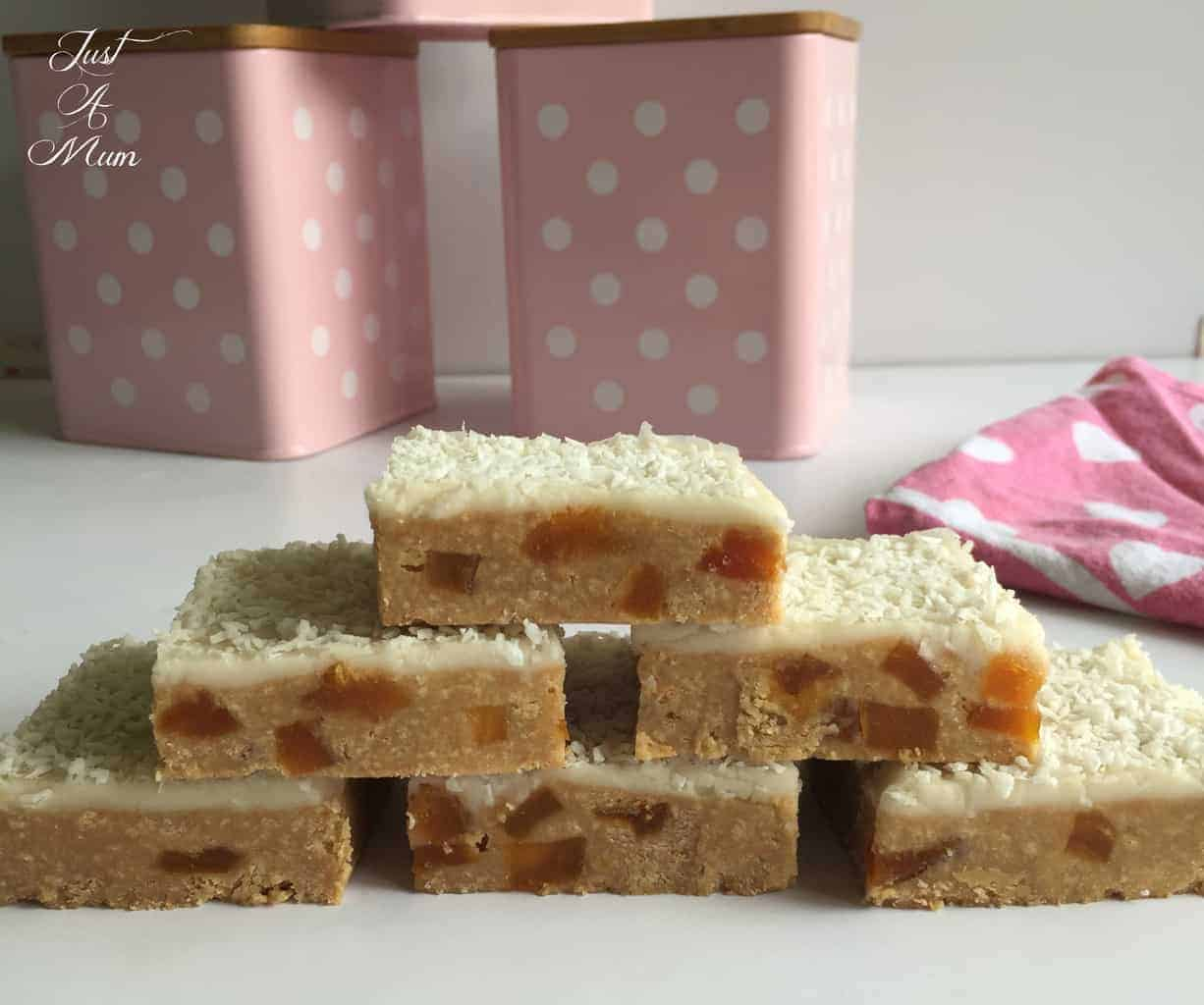 Just A Mum's Apricot Slice