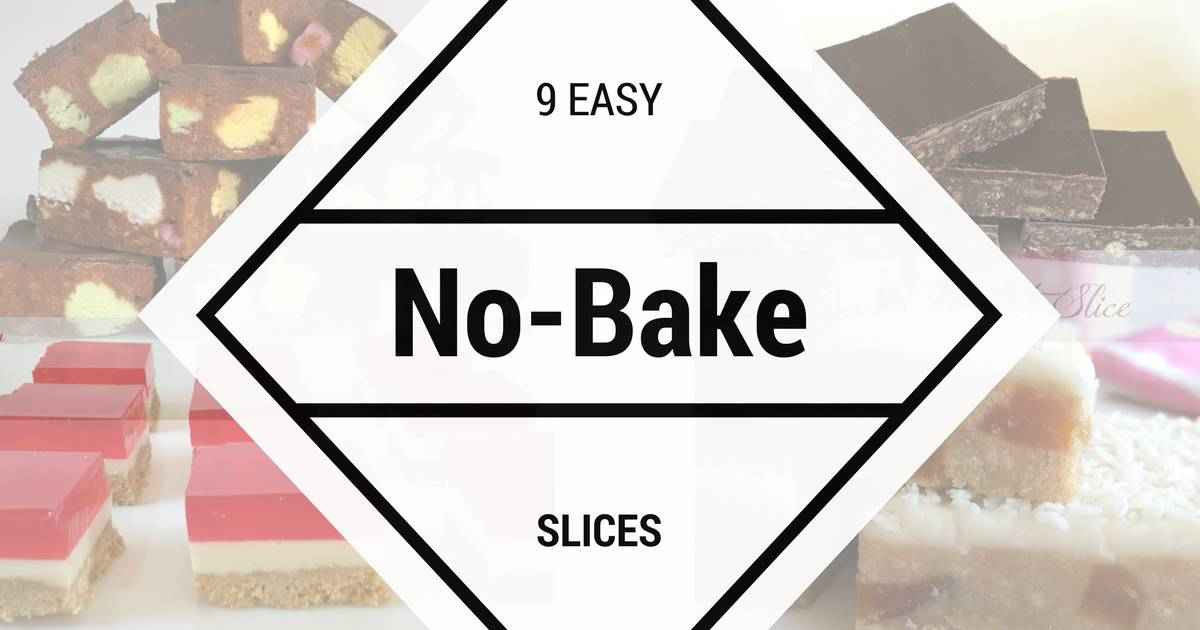 Just A Mums No Bake Slices