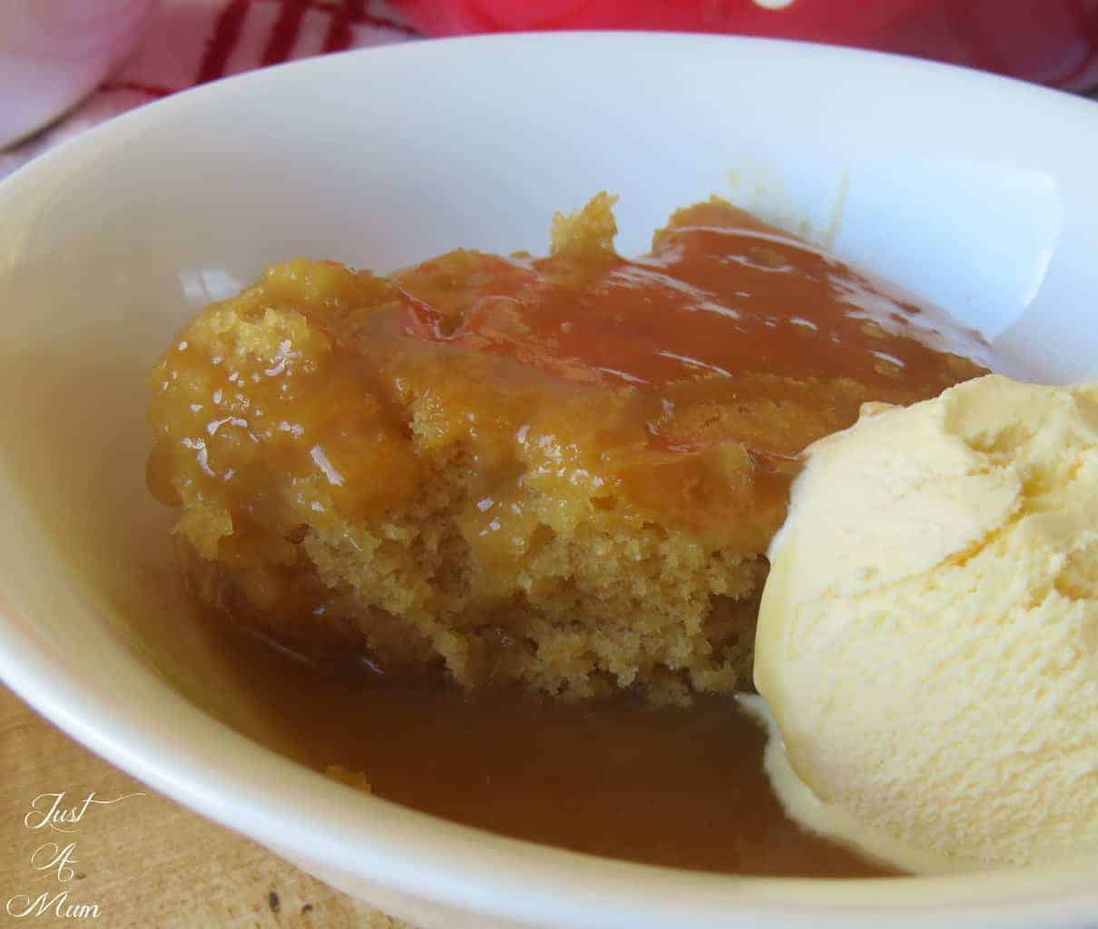 Just A Mum's Butterscotch Self-Saucing Pudding