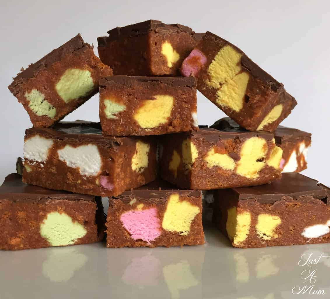 Just A Mum's Candy Slice