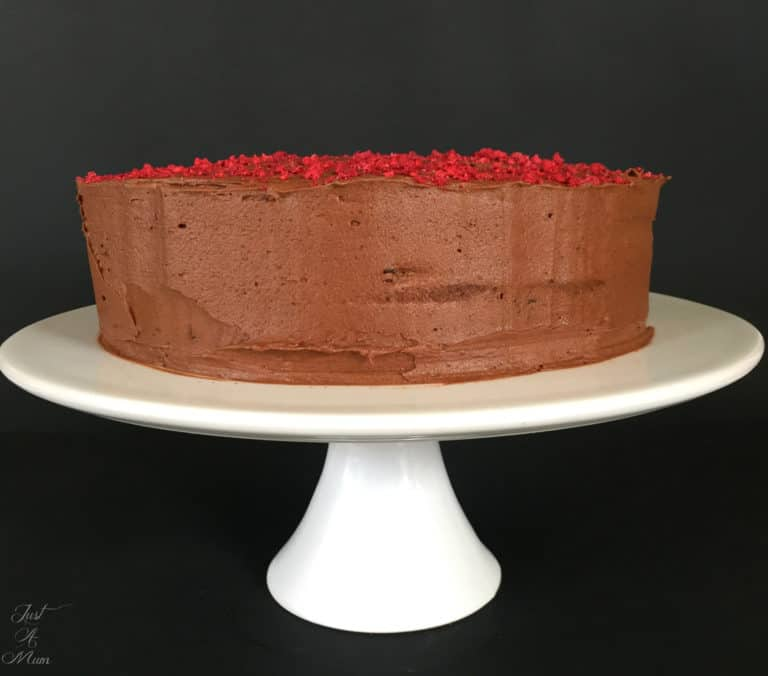 Just A Mums Beetroot Chocolate Cake