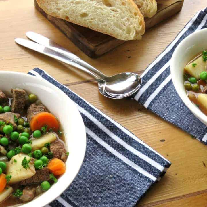 Irish Beef Stew & Meal Planning