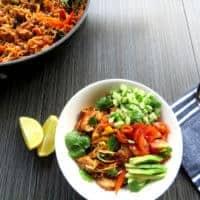 Chicken Burrito Noodle Bowl