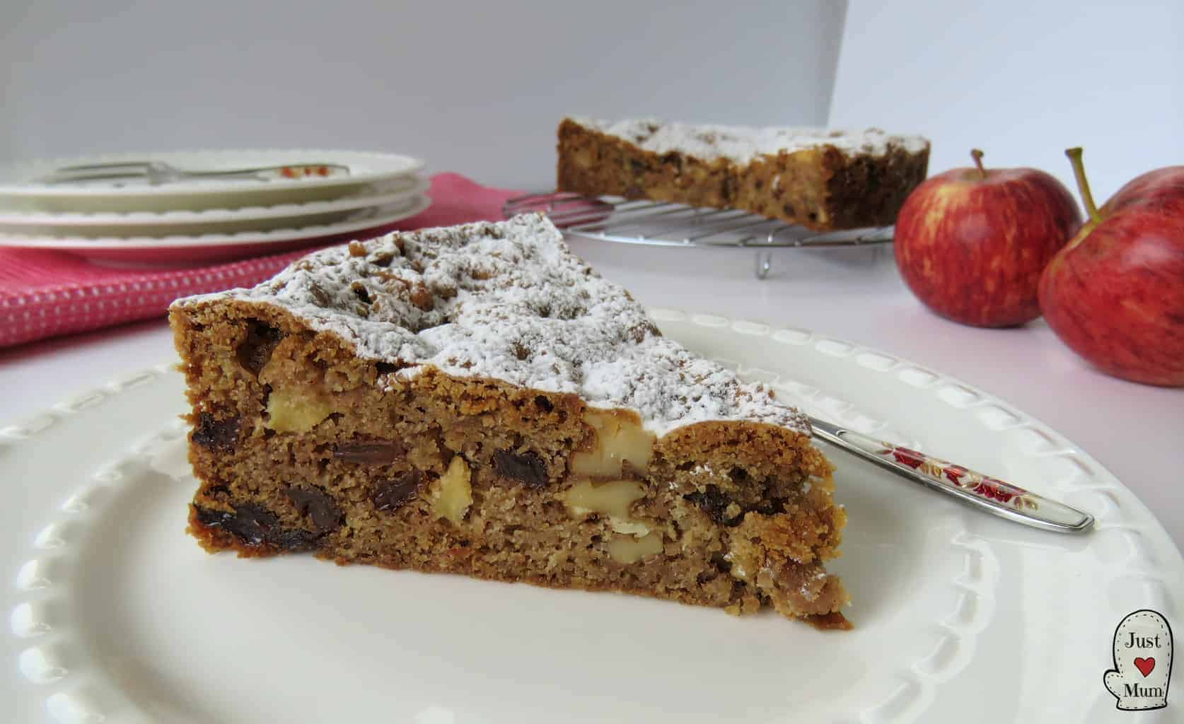Just A Mum's Apple Spice Cake