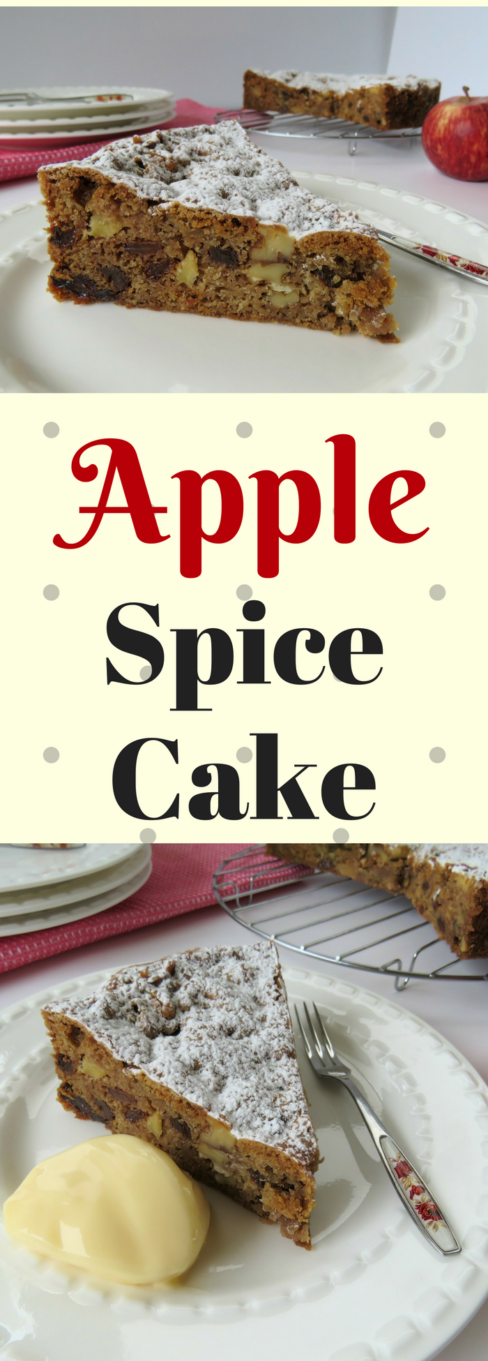 Just A Mum Apple Spice Cake Pinterest