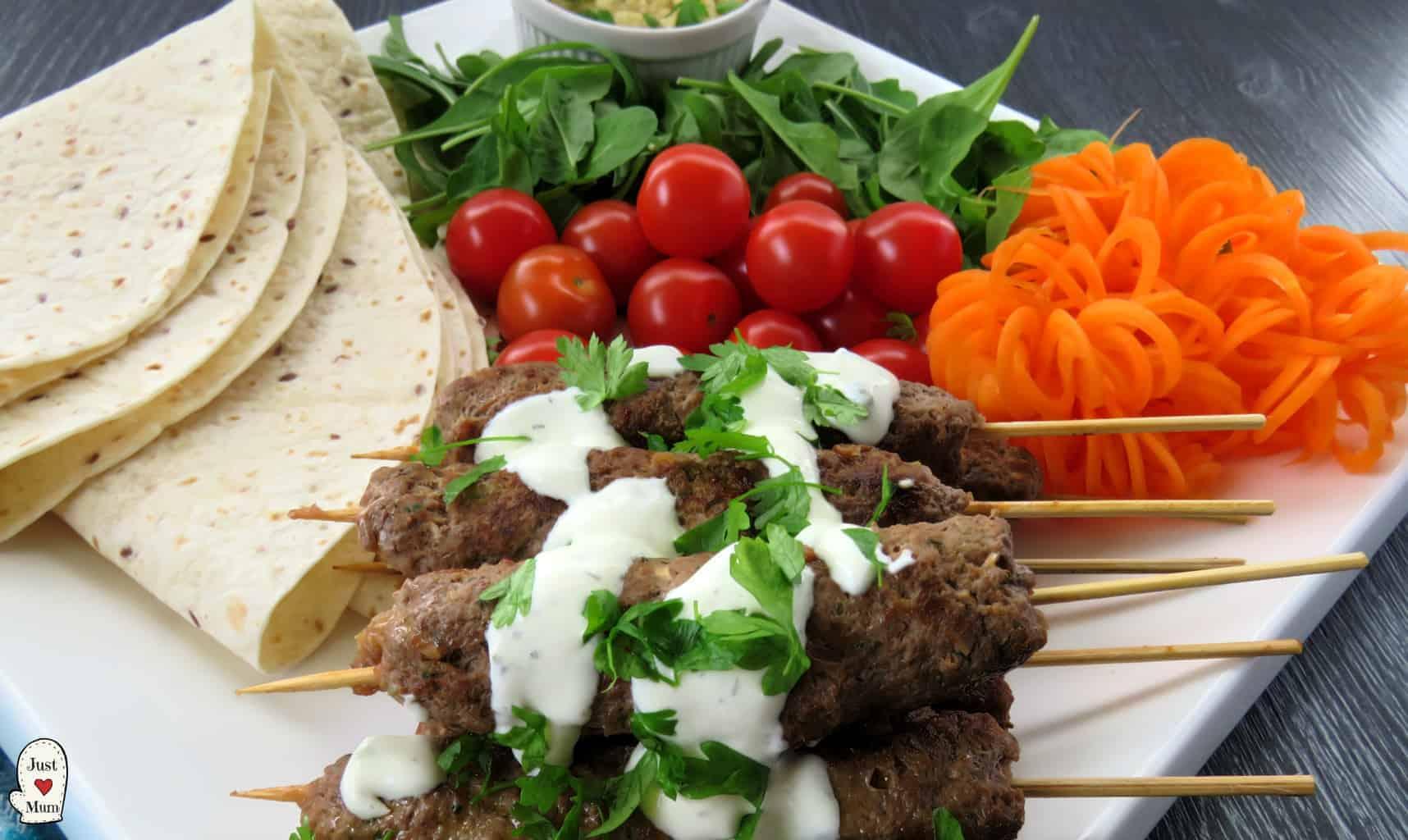 Just A Mum's Beef & Lamb Kofta