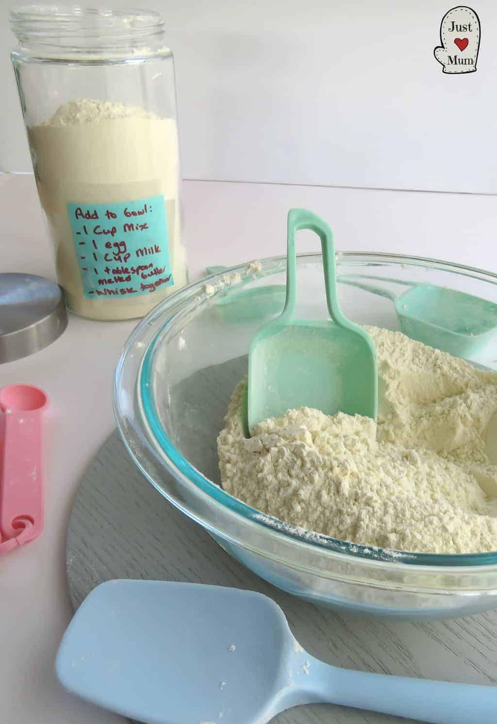 Just A Mum's Homemade Pancake Mix