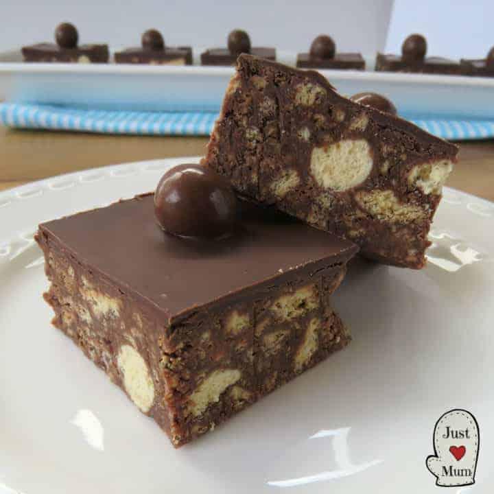 Maltesers No Bake Slice