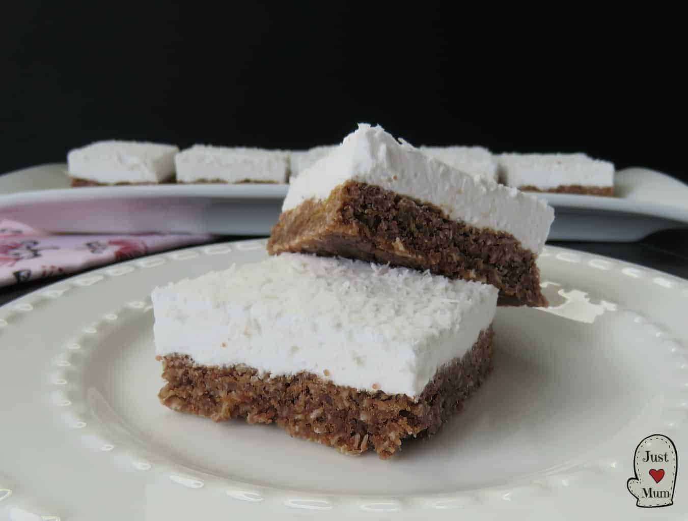 Just A Mum's Marshmallow Weetbix Slice