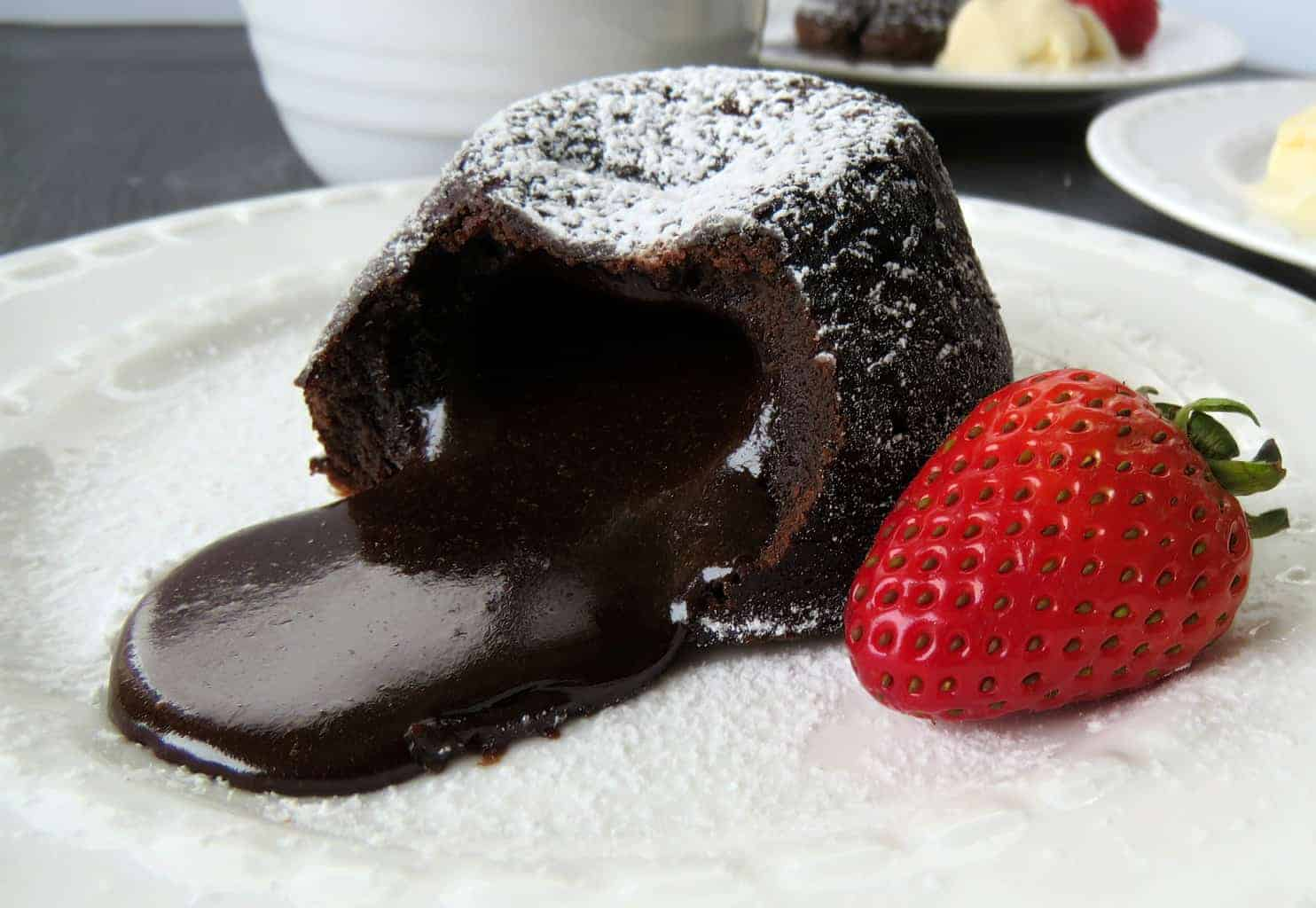 Just A Mum's Chocolate Lava Cake