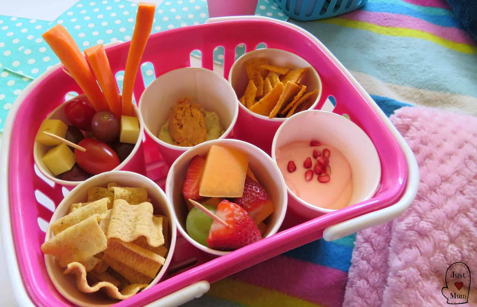 Just A Mum Healthy Movie Snack Ideas