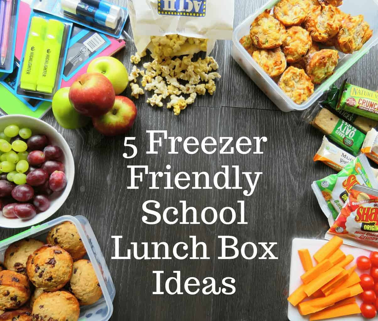 5 Freezer Friendly Lunch Box Fillers - Just A Mum