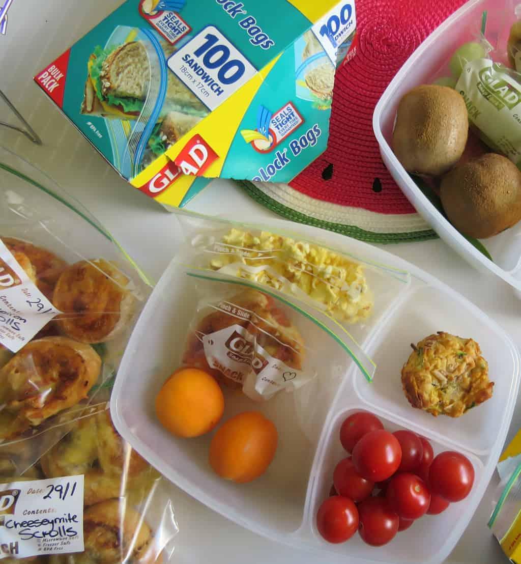 Just A Mum's 2 Ingredient Lunchbox Scrolls