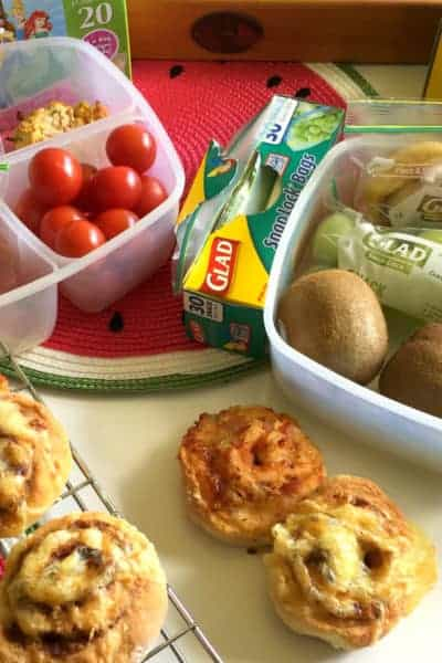 2 Ingredient Lunch Box Scrolls