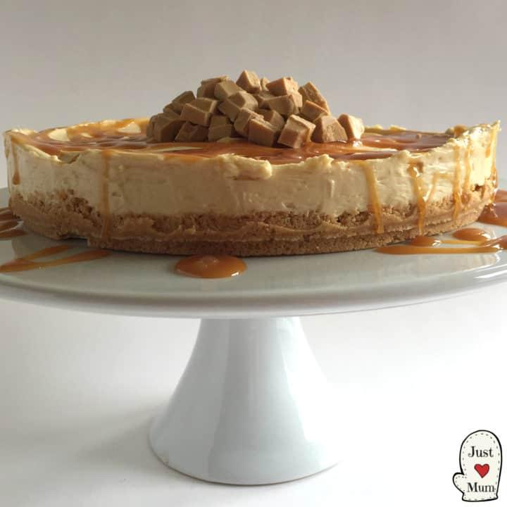 Caramilk Cheesecake