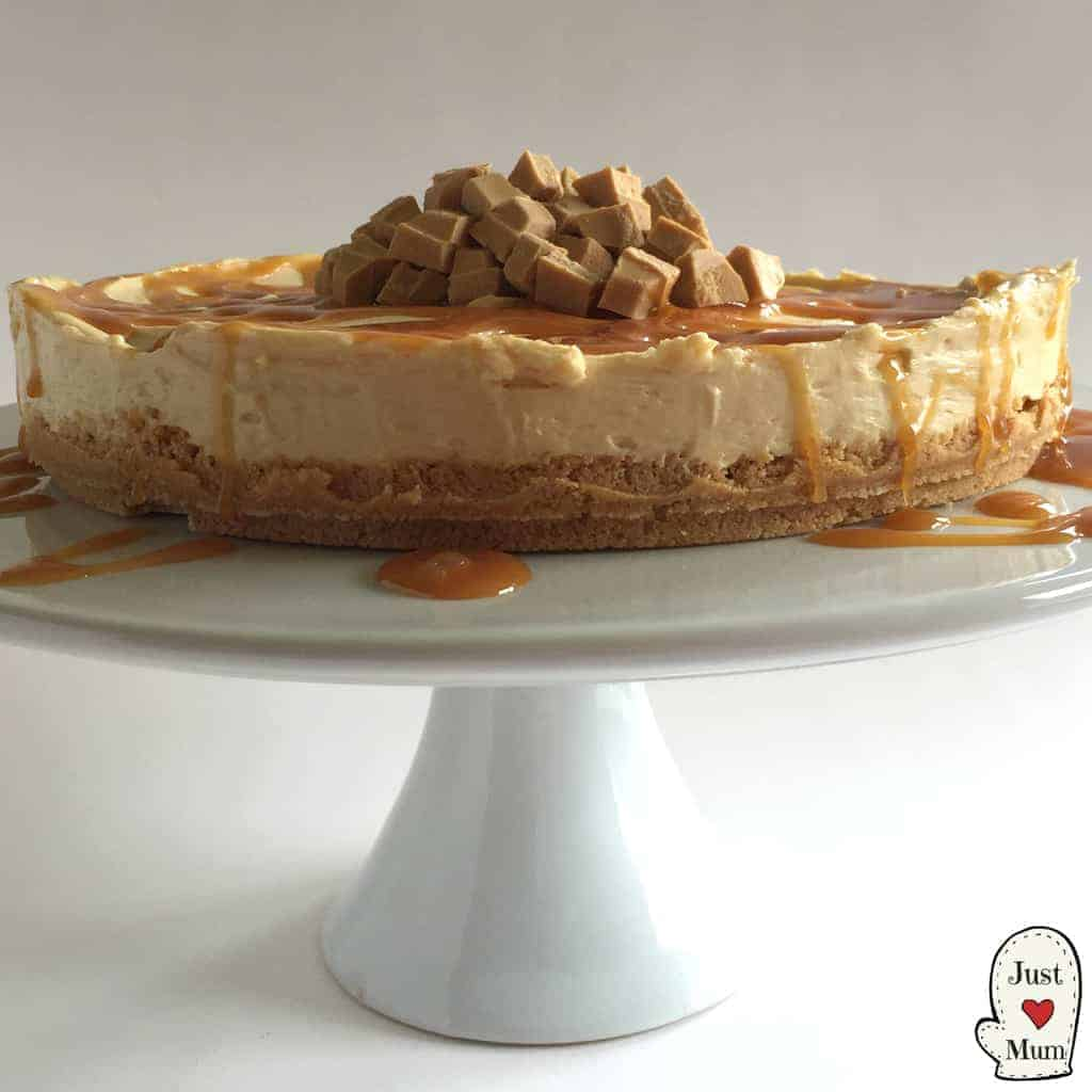 Just A Mum's Caramilk Cheesecake