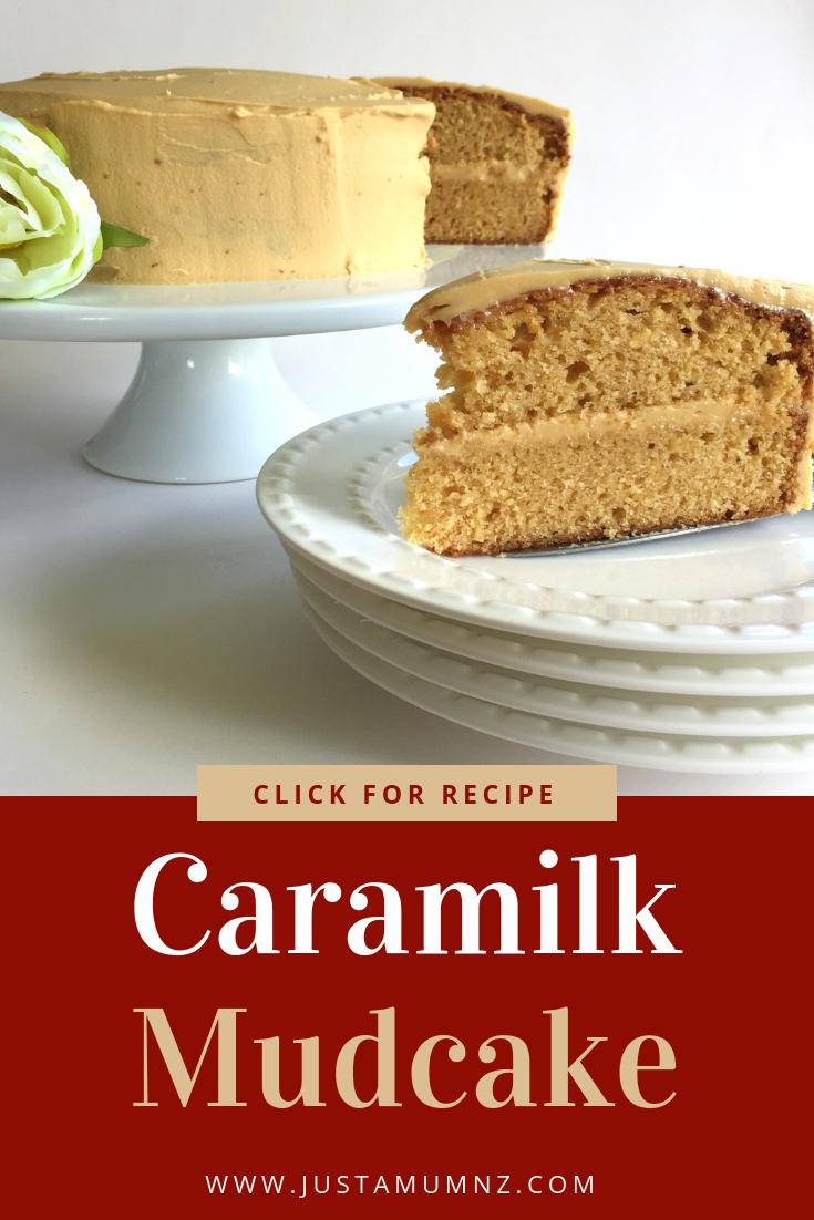Delicious recipe for Caramilk Mudcake is easy to make, simple to decorate. A delicious caramilk ganache. #best #caramel #cadbury #icing #birthday #mud #cake