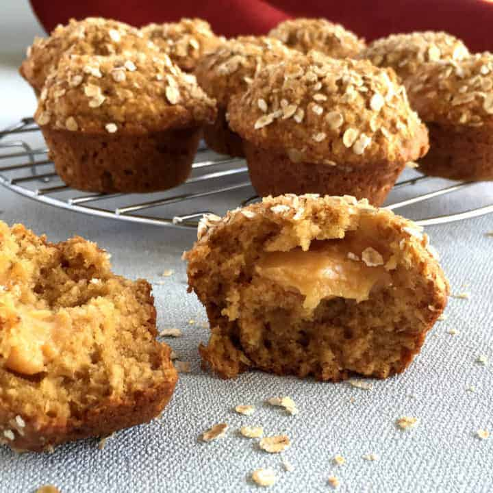 Anzac Muffins with Caramel Just A Mum