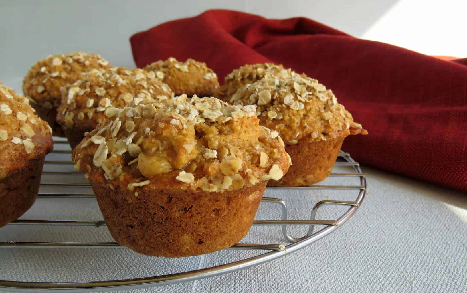 Just A Mum's ANZAC Muffins with a Caramel Filling