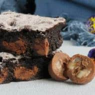Easy Easter Egg Brownie