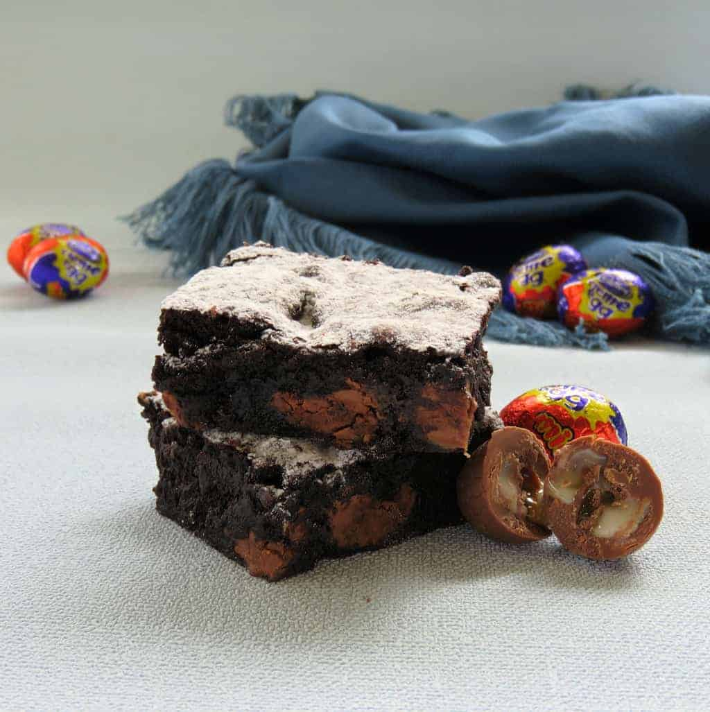 Just A Mum's Easter Egg Chocolate Brownies