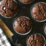 Just A Mum's Double Chocolate Chip Muffins 2.0