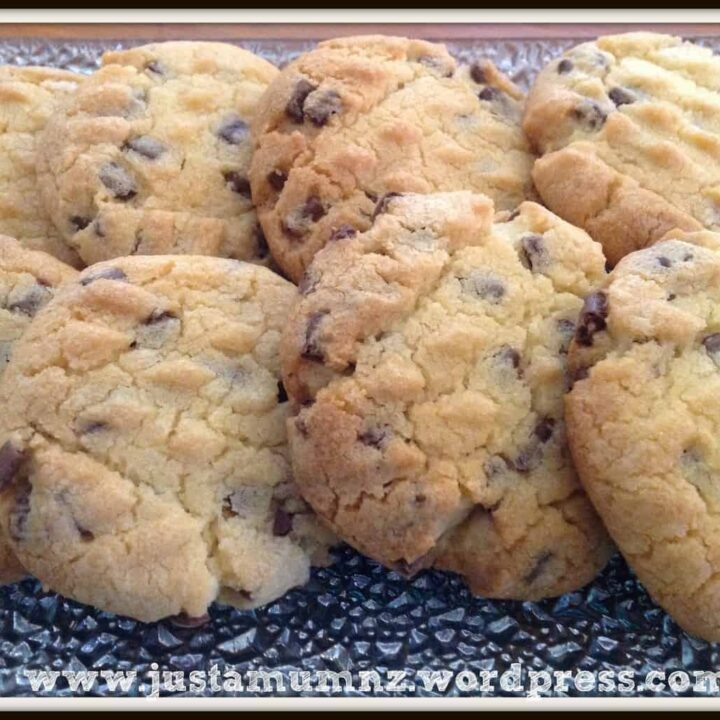 My Mum's Vanilla Biscuits