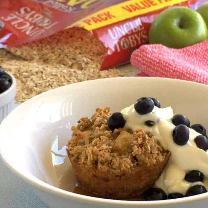 Rolled Oats & Apple Breakfast Cups