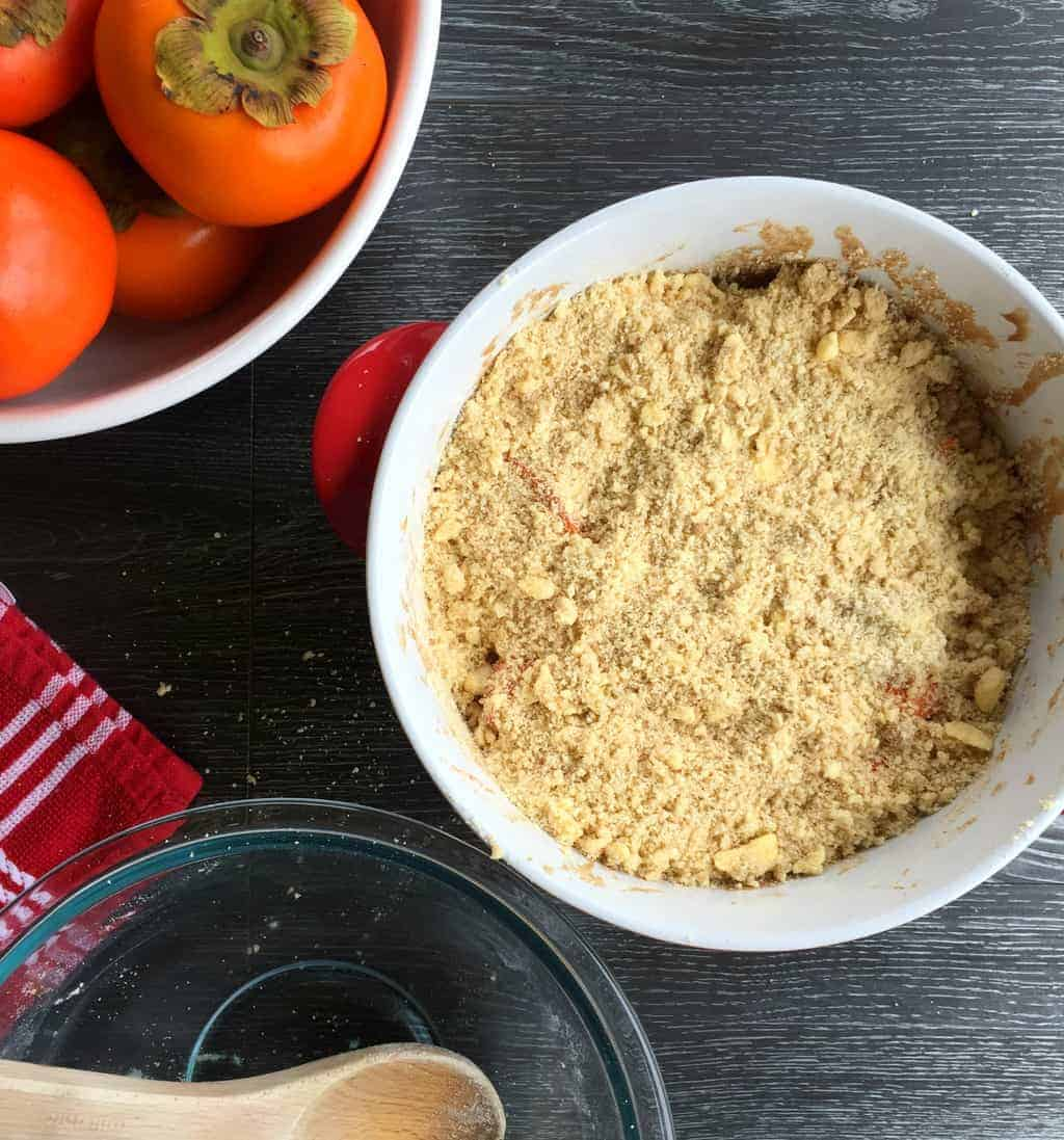 Persimmon Crumble - Just A Mum