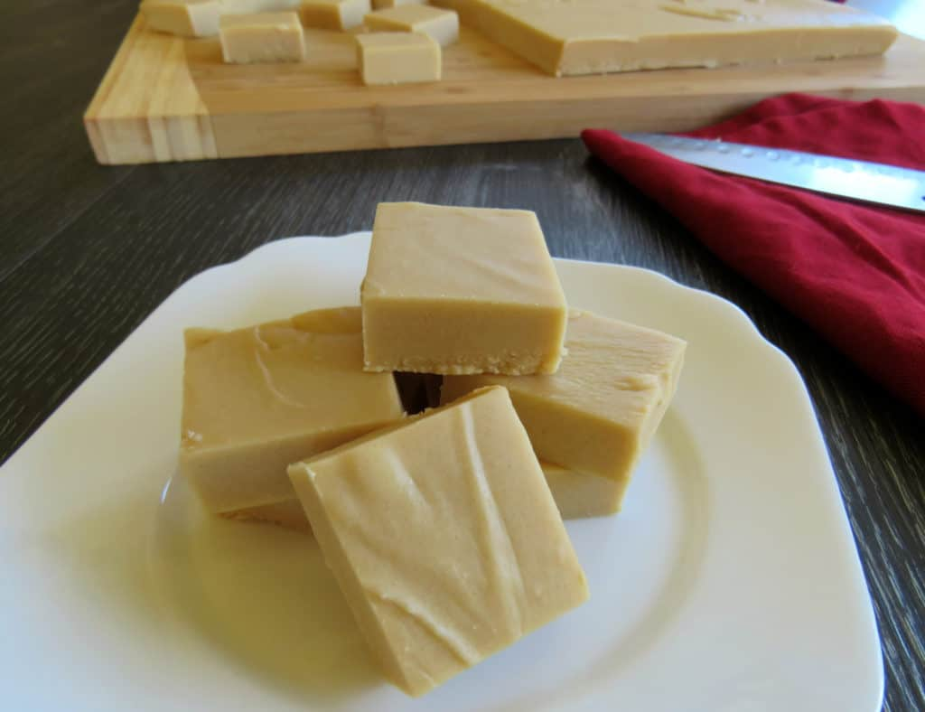 Caramel Amp White Chocolate Microwave Fudge Just A Mum
